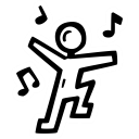 dance, celebration, dancer, party icon