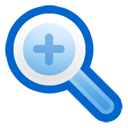 zoom in, magnifier, zoom, magnifying class, enlarge, in icon