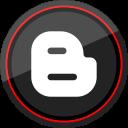 blogger, logo, social, media icon