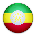 of, flag, ethiopia icon