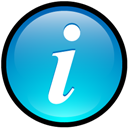 Button, Info icon