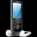 iPod Nano black on icon