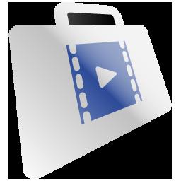 Folder Video Film Movie Icon 170 Dock Icon Sets Icon Ninja