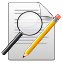 find, replace, seek, edit, writing, write, search icon