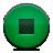 green, stop, button icon