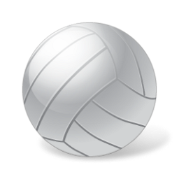 ball, sport, volleyball icon