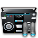 recoder, tape, seek, find, search icon