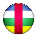 republic, central, country, flag, african icon