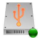 mount, hdd, usb icon