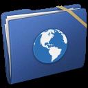 Blue Elastic Sites icon