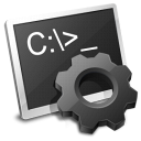 batch, file, ms, dos icon