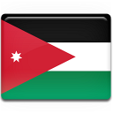 jordan, country, flag icon