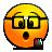 penholder, nerd, emote icon