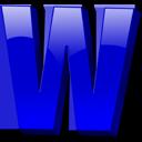 Letter w icon