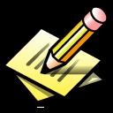 Beos, Paper, Pen, Write icon
