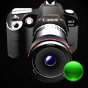 lens, camera, mount, canon, reflex icon