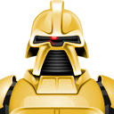commander, cylon, razor icon
