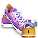 shoes,lock,locked icon