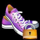shoes,lock,locked icon