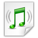 Audio, Flac, Note, x icon