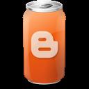 blogger, drink icon