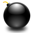 edit,bomb,explosive icon