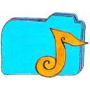 Osd folder b music icon
