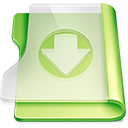 Summer download icon