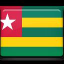 togo, flag icon