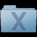 Blue, Folder, System icon