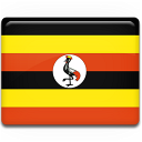flag, uganda, country icon