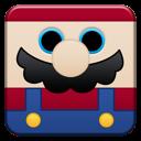 mario, cartoon icon