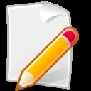 file, editor, accessory, document, text icon