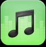 music,green icon