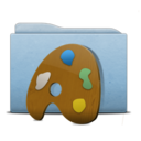Folder Blue Palette icon