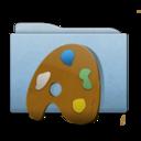 Folder Blue Palette icon