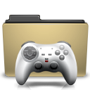 games, manilla, folder icon