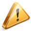 warning, sign icon