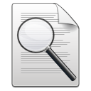 Actions document find icon