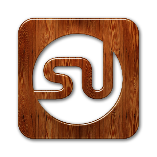 logo, stumbleupon, square icon