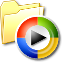 my media, folder, media icon