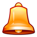 bell, alarm icon