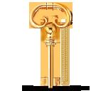 lock, key icon