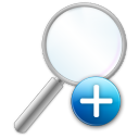 zoom, magnifier, enlarge, zoom in, magnifying class, in icon