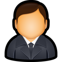 executive, account, user, manager icon