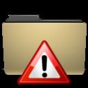 Folder, Important, Manilla icon
