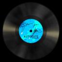 vinyl,blue icon