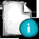 info, file icon