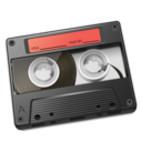 Cassette Red icon