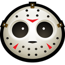 jason, vorhees, mask, halloween, clown, hockey, spooky icon